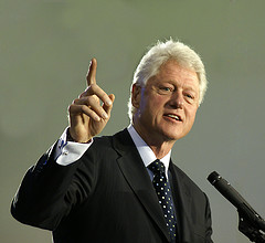 Bill Clinton - yes, I took this photo