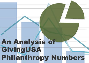 An Analysis of GivingUSA Philanthropy Numbers